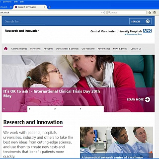 Welcome to our new research website