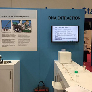 100,000 Genomes at the NHS Health and Care Innovation Expo 2015