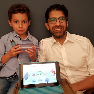 Rafi-tone app set to help millions of children with asthma