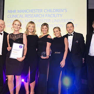 Children's clinical research facility recognised for outstanding contribution to research