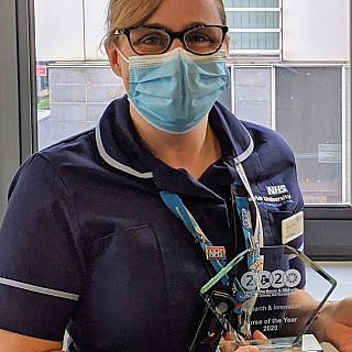 YNM2020: A year as the Research and Innovation Nurse of the Year – a blog by Vicki Conroy, Research Nurse Manager