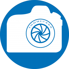 Medical Illustration camera icon