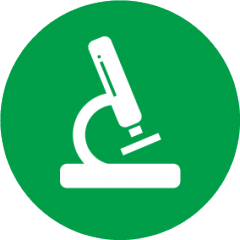 Cellular pathology research service icon