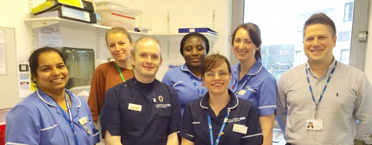 Adult Oncology Research team