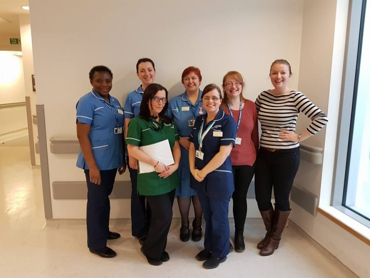 The oncology clinical research team
