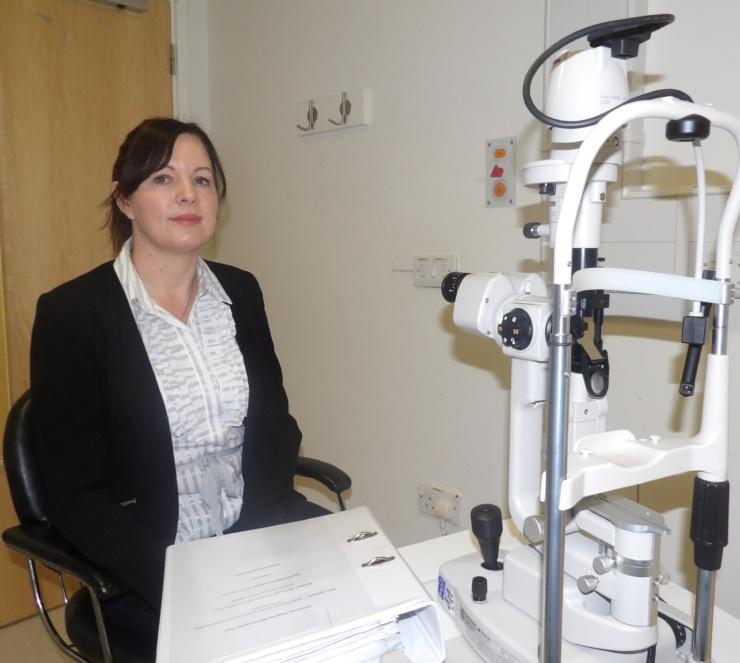 Clinical Trials Manager Monika Cien