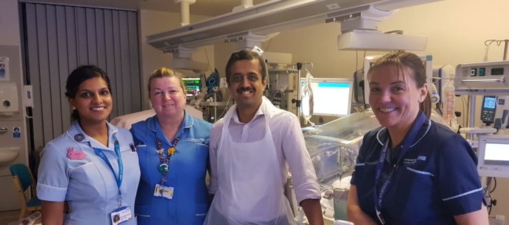The Neonatal Intensive Care Unit (NICU) research team