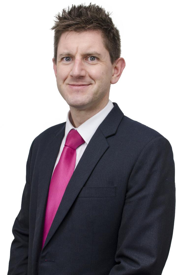 A photo of Professor Andrew Rowland