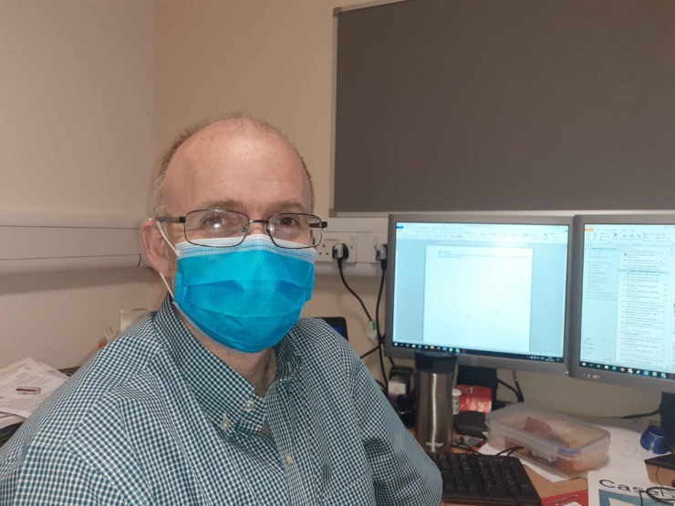 A photo of Dr Stephen Hughes