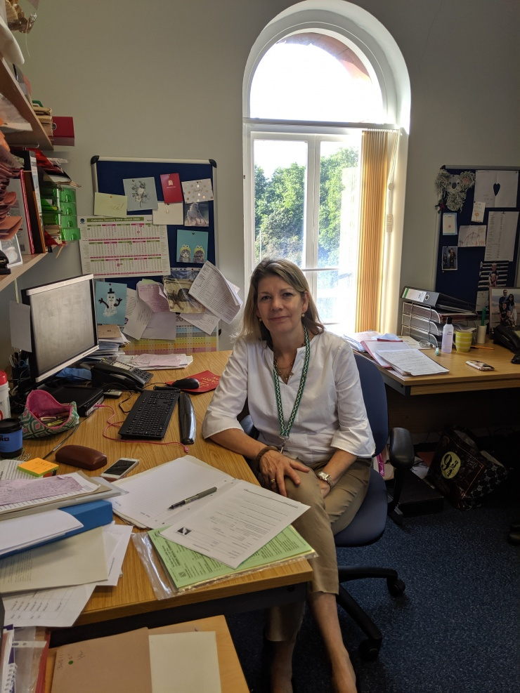Dr Catherine White, Clinical Director of Saint Mary's Sexual Assault Referral Centre