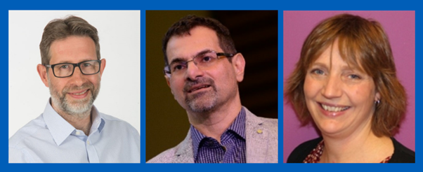 Dr Simon Jones, Dr Handrean Soran, and Dr Bella Starling