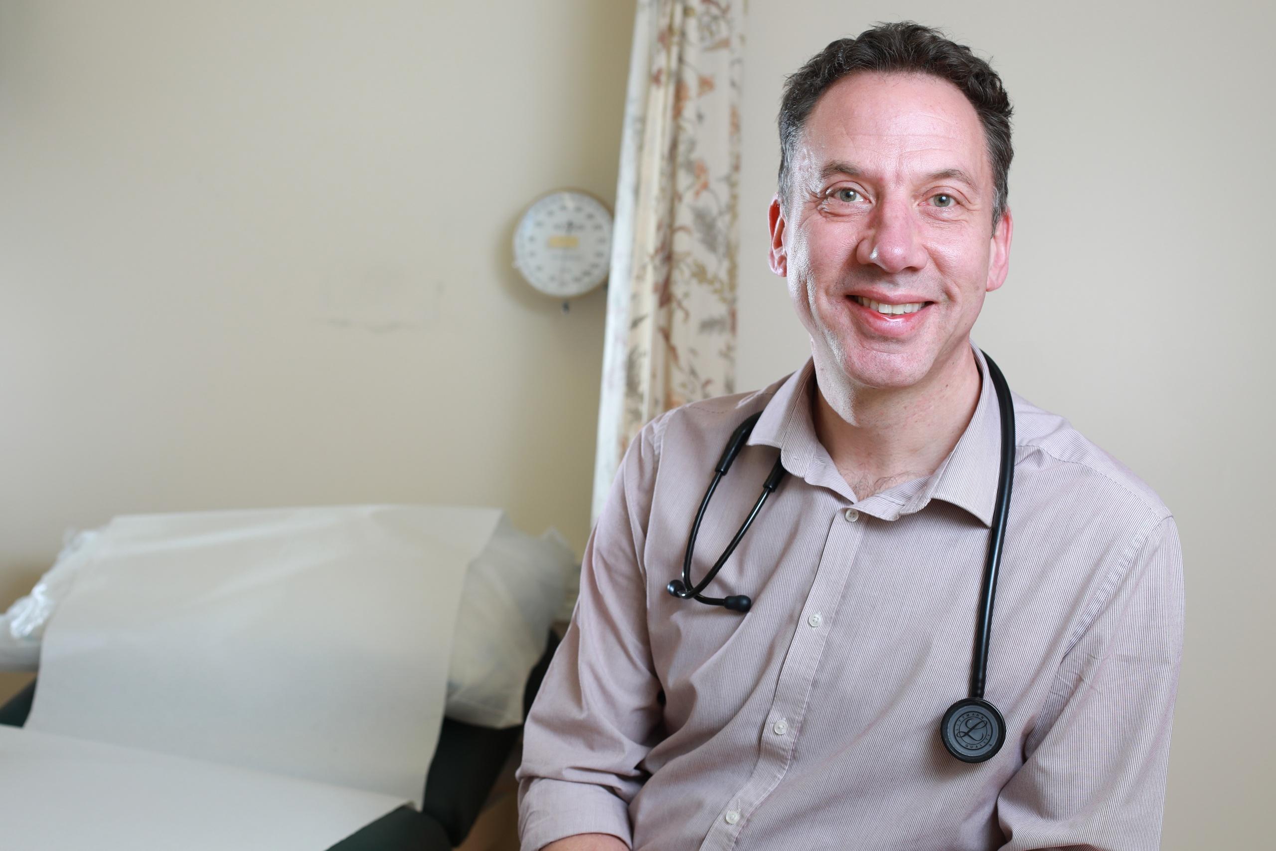 Image shows Professor Andrew Ustianowski
