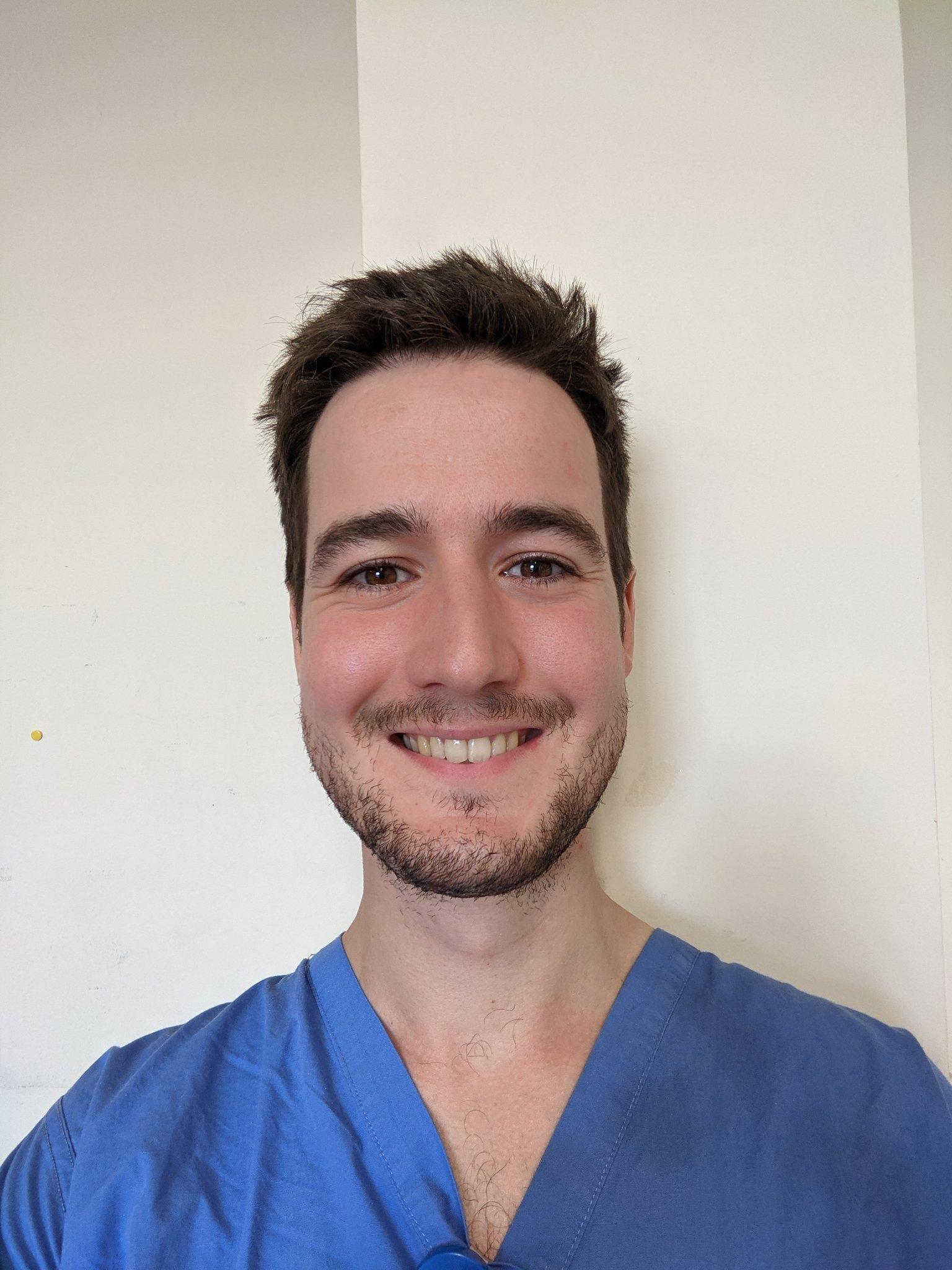 Image shows Samuel Hay Internal Medical Trainee ,